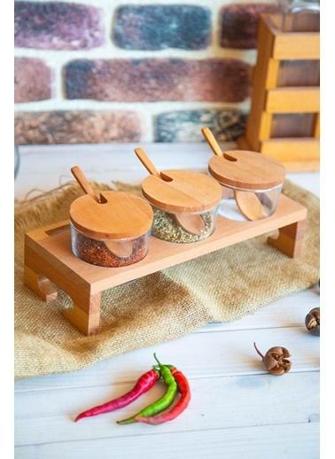 Joy Kitchen  3' Lü Trio Standlı Baharatlık Renkli